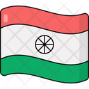 Indian Flag National Flag Insignia Icon