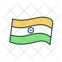 Flag Independence Day Icon