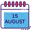 Indian Calendar Planner Yearly Calendar Icon