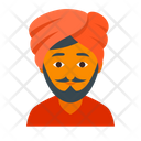 Alladin Hindu Indian Icon