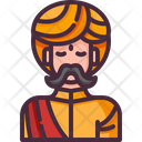 Indian Man User Icon
