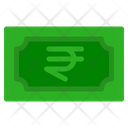 Indian Rupee Banknote Country Icon