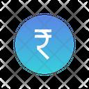 Indian Rupee Icon