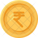 Indian Rupees Coin Coins Currency Icon