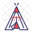 Indian Tent Tent Camp Icon