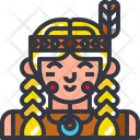 Indian tribe Icon