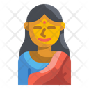 Indian Woman Indian Woman Icon