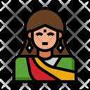 Indian Woman Indian Pilgrim Icon