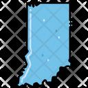 Indiana States Location Icon