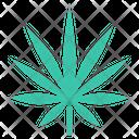 Indica Cannabis Marijuana Icon