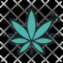 Indica Leaf Marijuana Icon