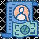 Individual Income Tax Icon