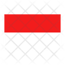 Indonesia Flag Country Icon