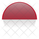 Indonesia Holiday Country Icon