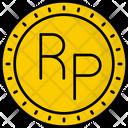 Indonesia Rupiah Icon