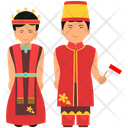 Indonesian Outfit Indonesian Clothing Indonesian Dress Icon