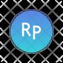 Indonesian Rupiah Icon