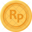 Indonesian Rupiah Coin Coins Currency Icon