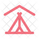 Camping Indoor Stay At Home Icon