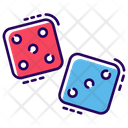 Indoor Dice Game Casino Gambling Icon