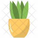 Potted Plant Grass Icon