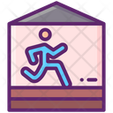 Indoor Track And Field Icon