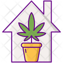 Indoors Plant Inside Icon