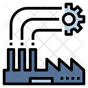 Industrial Industry Factory Icon