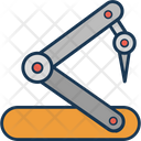 Industrial Robotic Technology Robot Icon