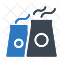 Chimney Gas Plant Icon