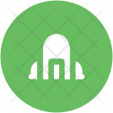 Industrial Building Process Icon