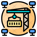 Industrial Big Data Online Icon