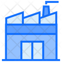Industrial Factory Plant Icon