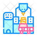 Industrial Production Peanut Icon