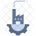 Industrial Factory Manufacturing Icon