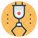 Industrial Arm Robot Icon