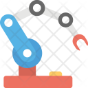 Industrial Robot Technology Icon