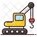 Industrial Crane Port Carne Construction Crane Icon