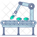 Manufacturing Ecosystem Industrial Ecosystems Machinery Icon