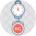 Digital Hanging Scale Icon