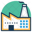 Industrial House Factory Icon