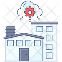Industrial Building Industrial Lot Industrial Structure Icon