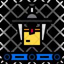 Conveyor Delivery Industrial Machine Icon