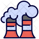 Factory Industry Pollution Icon