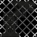 Robot Automation Tech Icon