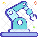 Industrial Robot Robot Technology Industrial Arm Icon