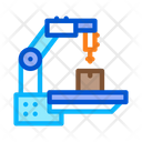 Manufacturing Technology Process Icon