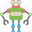 Industrial Robot Mechanical Icon