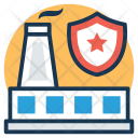 Industrial Security Risk Icon