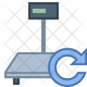 Industrial Scales Connecting Icon